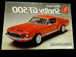 Model Kit 1968 Ford Shelby Mustang GT 500 Fastback 3n1 Kit A