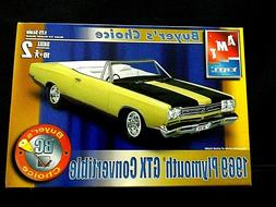 Model Kit 1969 Plymouth GTX Convertible 2n1 Kit AMT Buyer's