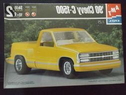 Model Kit 1990 Chevrolet C-1500 Pickup Truck 3n1 Kit AMT 1:2