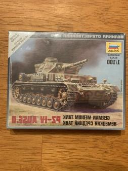 Zvezda Model Kit #6151 Pz-IV Ausf. D German Medium Tank