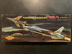 model kit republic f 105 thunderchief scale