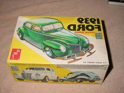 AMT MODEL KIT # T144 1939 FORD TUDOR SEDAN ,1/25 , Model Str