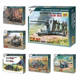 """Model Kits """"German artillery pieces / ordnance with Crew WWI"""