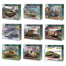 "Model Kits ""German tanks / motorized forces 1939-43 WWII"" 1:"