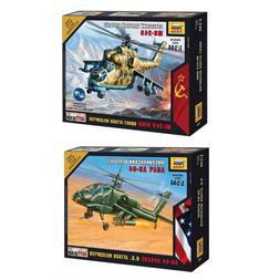 """Model Kits """"Modern military Attack Helicopters air forces Co"""
