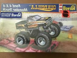 revell model kits Monster Truck QuadZilla