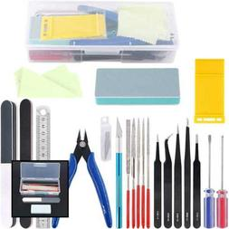 Rustark 21Pcs Modeler Basic Tools Craft Set Hobby Building T