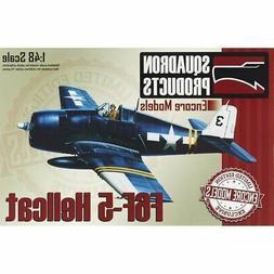 Encore Models 48007 F6F-5 Hellcat 1/48 Model Airplane Kit Sq