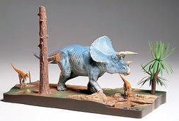 Tamiya Models - 1/35 Triceratops Dinosaur Diorama Set