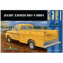 Moebius 1965 Ford F-100 Service Truck 1:25 scale model kit n