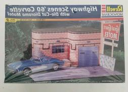 Revell Monogram Highway Scenes 1960 Corvette 1/25 Scale Mode