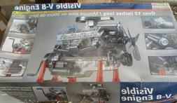 Revell Monogram  Visible V-8 Engine  1/4 scale  2  KIT PARTS