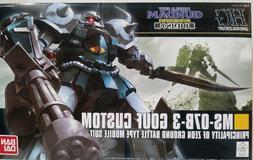 Bandai MS-07B-3 GOUF Custom Principality of Zeon Ground batt
