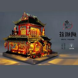 MU 3D Metal Puzzle Chinatown building MERCERY STORE <font><b