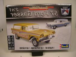 Revell '57 Ford Gasser Wagon 2 'n 1 1/25 model car kit new 4