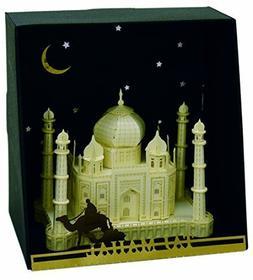 Nanoblock Paper Nano - Taj Mahal Model Kit, Model: 58605, To