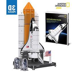 CubicFun National Geographic NASA Space Ship Toy,Kids 3D Puz