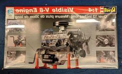 *NEW* Revell 1:4 Scale Visible V-8 Engine Model Kit ~ 8883 ~