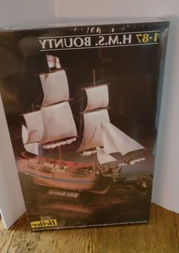 NEW 1.87 H.M.S. Bounty Schooner Ship Heller Model Kit SEALED
