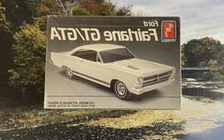 NEW  AMT 1966 FORD FAIRLANE GT/GTA 1/25 MODEL KIT