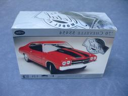 NEW TESTORS 1970 CHEVELLE SS 454 METAL BODY 1:24 SCALE MODEL