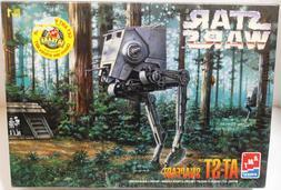 New 1998 AMT ERTL Star Wars AT-ST SNAPFAST Model Kit Sealed