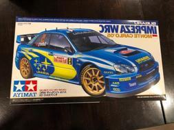 NEW Tamiya 24281 Subaru Impreza WRC Monte Carlo '05 1/24 sca