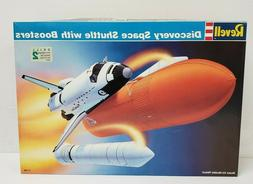 NEW Revell 4544 1:144 Scale Discovery Space Shuttle with Boo