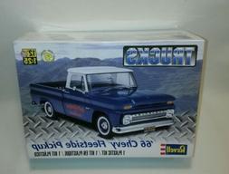 ☆ NEW Revell '66 Chevy Fleetside Pickup Truck 1:25 scale p