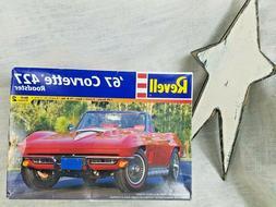 NEW '67 Corvette 427 Roadster Revell | No. 85-2968 | 1:25 sc