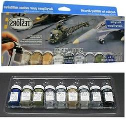 NEW Testors Aircraft Acrylic Paint Set For Plastic Model Kit