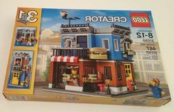 New LEGO Creator 3 in 1 Corner Deli 31050, 467pcs - New