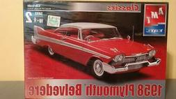 New AMT ERTL 1:25 scale 58 Plymouth Belvedere 1958 plastic m