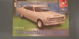 New AMT ERTL 1:25 scale 66 Ford Fairlane 427 1966 Plastic mo