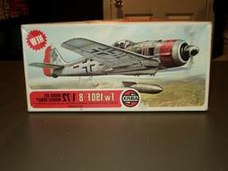 NEW Airfix Focke-Wulf Fw 190 F-8 1:72 Model Kit Airplane Pla