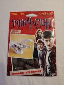 New Harry Potter Miniature Metal Earth Model Kit Gift Laser