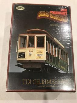 NEW IN BOX Testors San Francisco Cable Car 1:48 Scale Model