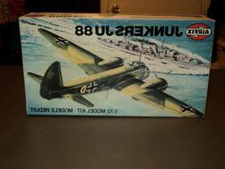 NEW Airfix Junkers JU 88 1:72 Model Kit Airplane Plane Serie