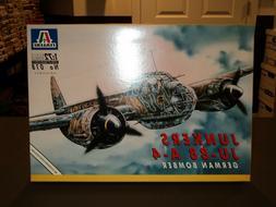 NEW Italeri JUNKERS JU-88 A-4 German Bomber 1:72 Airplane Mo