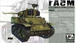 NEW - AFV Club M5A1 Light Tank Early Type - 1/35 Scale Plast