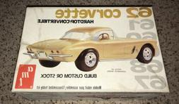 NEW AMT  MODEL KIT# 2205 62 CORVETTE HARDTOP/CONVERTIBLE Ope