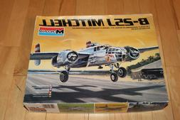 NEW Monogram 1:48 B-25J Mitchell Plastic Aircraft Model Kit
