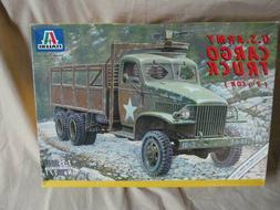 New Sealed Italeri 271 US Army Cargo Truck Model Car Kit Mil