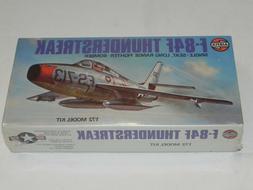 New Sealed Airfix F-84F Thunderstreak Fighter Bomber Plane M