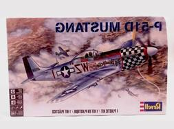New Sealed Revell P-51D Mustang Airplane Model Kit Aircraft