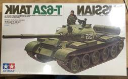 New Sealed Tamiya 1/35 Russian T-62A Tank Kit# 35108
