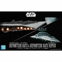 New Bandai Star Wars 1/2700000 Death Star II & 1/14500 Star