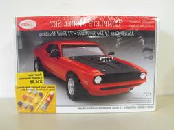 NEW TESTOR'S 1971 FORD MUSTANG 1/25  MODEL KIT