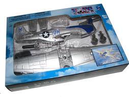NewRay 1:48 P-51 Mustang Plastic Model Airplane Kit Brand Ne