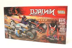 LEGO NINJAGO Street Race of Snake Jaguar 70639 Building Kit